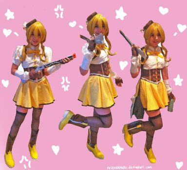 Complete Mami Tomoe Cosplay by ForeverOtaku