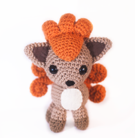 Vulpix Amigurumi by tiny-moon