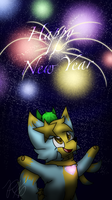 New Years for 2018! by PoppyWolfMoon