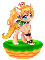 Bowsette by mimijuliane