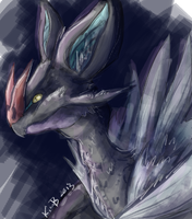 Noivern doodle by phantos