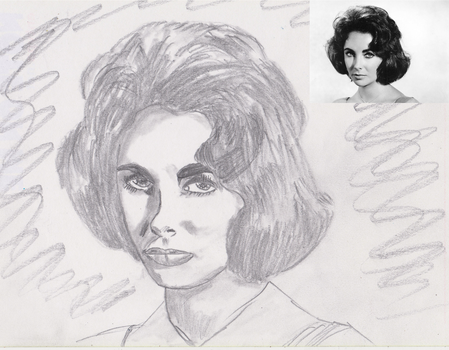 how to draw a portrait without knowing to draw by JohnKarnaras