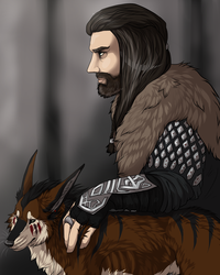 Thorin and some derp yote by KiteKraschu