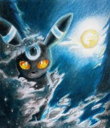 Shiny Umbreon by mich-spich
