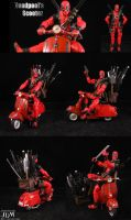 Deadpool's Scooter by Jin-Saotome
