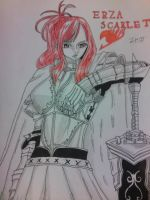 Erza Scarlet's Drawing by StefanosDTsougranis
