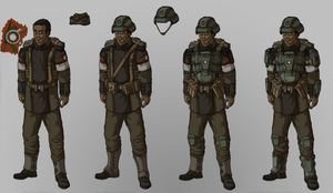 Field Uniform, C.R.A.F. by Athalai-Haust