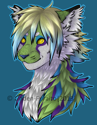 Calluna Tattoo Headshot by Linden-Furaito