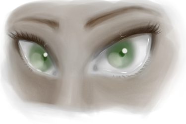 Lemme see those big green eyes by drawingequalslife