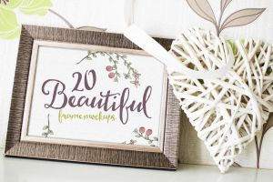 20 Beautiful Frame Mockups by Layerform