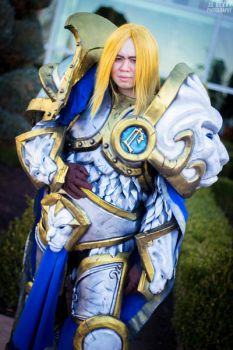 Crown Prince Arthas Menethil, Warcraft by EminenceRain