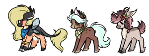 Small Pony Batch II - Auction [CLOSED] by Pikadopts