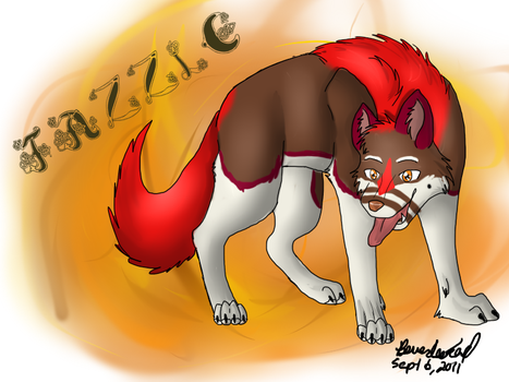 Fazzle - WM Bday Pic 4 by Wolven-Sorceress