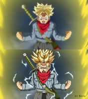 Dragon Ball Super Correction V2 - Trunks SSj2 by Say4