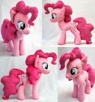 Pinkie Pie Plush Pony by heytherejustine