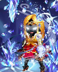 Jynx as... Ice Warrior (Jan. 2014) by OshunWave14