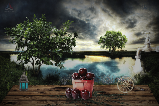 Red apples by adamhles