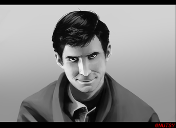 Norman Bates Painting by iNuts