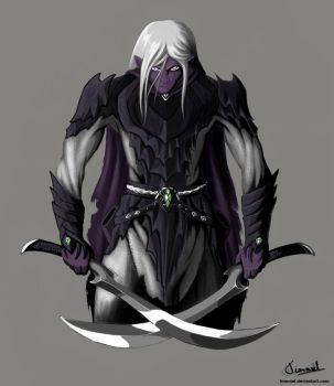 Drizzt Do'Urden by Tionniel