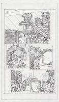 AWU Page 1 Pencils by KurtBelcher1