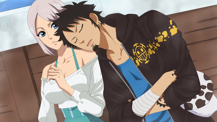 [OP OC] Law x Abel ~ day nap time by Luchi26