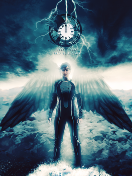 Hunger Games Poster: Catching Fire by Charonm