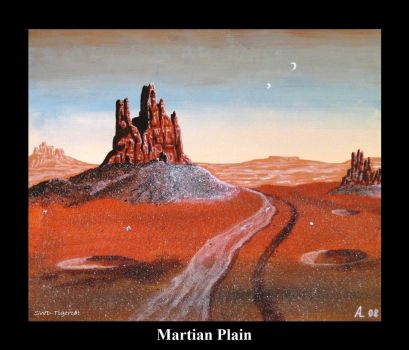 Martian Plain by SWD-Tigercat