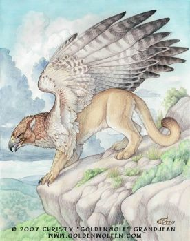 Puma Gryph by Goldenwolf