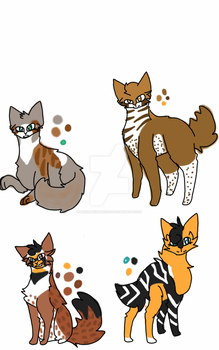 -CLOSED-free adoptables by Dreamfeather20