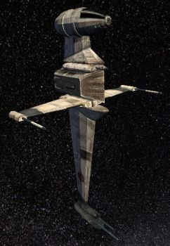 B-Wing Starfighter by StarToursTraveler