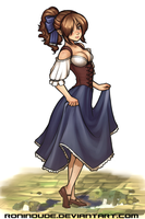 Silly Quickie - Peasant Girl by RoninDude