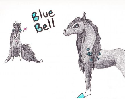 Blue Bell by TheDragonGirl123