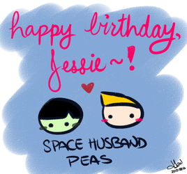 Happy Birthday, Jessie! by diav