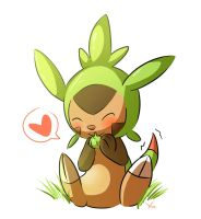 Chespin by deedledove