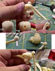 Improving connection pegs on Eternal Sailor Moon by LeonasWorkshop