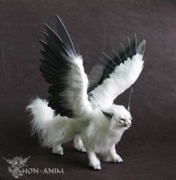 White Winged Cat by hon-anim