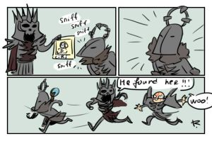 The Witcher 3, doodles 190 by Ayej