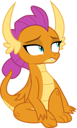 Smolder sitting by CloudyGlow