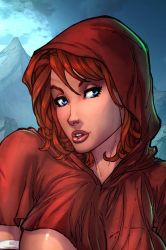 Little Red Riding Hood (Cropped) by vest