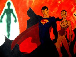 Justice League by Mathewism