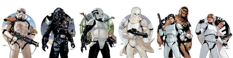 Star Wars Stormtrooper covers by TerryDodson