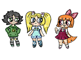 Powerpuffs by PortersPotions