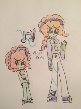 EQG Misty Beats by HuskyRBTorchick