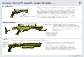 Forsake - Neo Ancient Egyptian Weapons 1 by W-E-Z