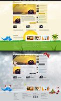 Photography Web Design by vasiligfx