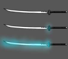 Moonlit memory (Official OC weapon) by Kranell