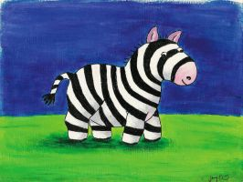 Zebra by Myana