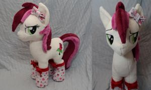 Sassy Roseluck Plush by makeshiftwings30