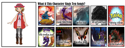 What If Serena Sings These 10 Songs by JapaneseGodzilla1954
