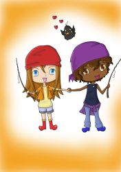 Harvest Moon Denny and Chelsea by MayaWonderholic